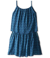 Chloe Kids - Runway Print Inspired Layered Woven Dress (Little Kids/Big Kids)