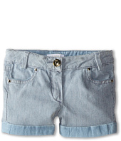 Chloe Kids - Ticking Stripe Denim Shorts (Toddler/Little Kids)