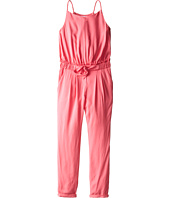 Chloe Kids - Woven Jumpsuit with Elasticated Waist (Little Kids/Big Kids)