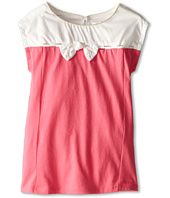 Chloe Kids - Two-Tone Jersey Dress with Lurex Bows (Toddler/Little Kids)
