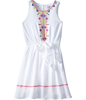 Us Angels - Sleeveless Georgette Dress w/ Embroidery (Big Kids)