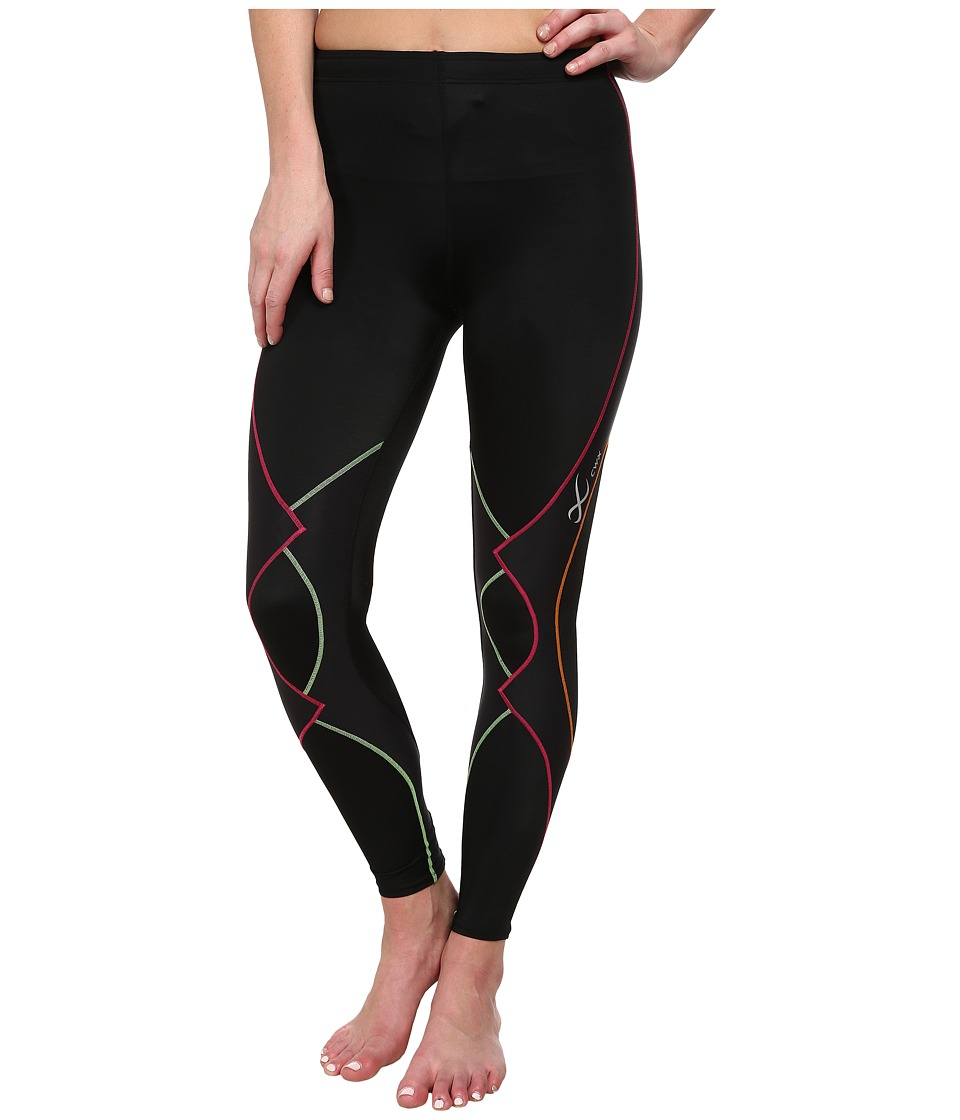CW X Expert Tight Black/Rainbow Womens Workout