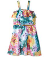 Us Angels - Printed Ruffle Bandeau w/ Full Skirt (Big Kids)