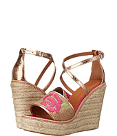 M Missoni - Burlap Wedge with Embroidery