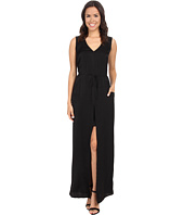BCBGMAXAZRIA - Taren Long Slit Front Drawstring Dress
