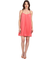 BCBGMAXAZRIA - Cayanne Sleeveless Pleated Dress