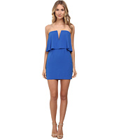 BCBGMAXAZRIA - Kate Strapless Dress w/ Rouched Skirt