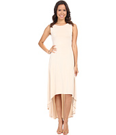 BCBGMAXAZRIA - Fara High Low Dress w/ Twist Open Back