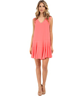 BCBGMAXAZRIA - Clea A-Line Double Flounce Tank Dress