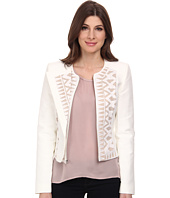 BCBGMAXAZRIA - Floyd Lace Insert Jacket