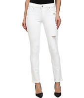 DL1961 - Angel Skinny in Swift White Distressed