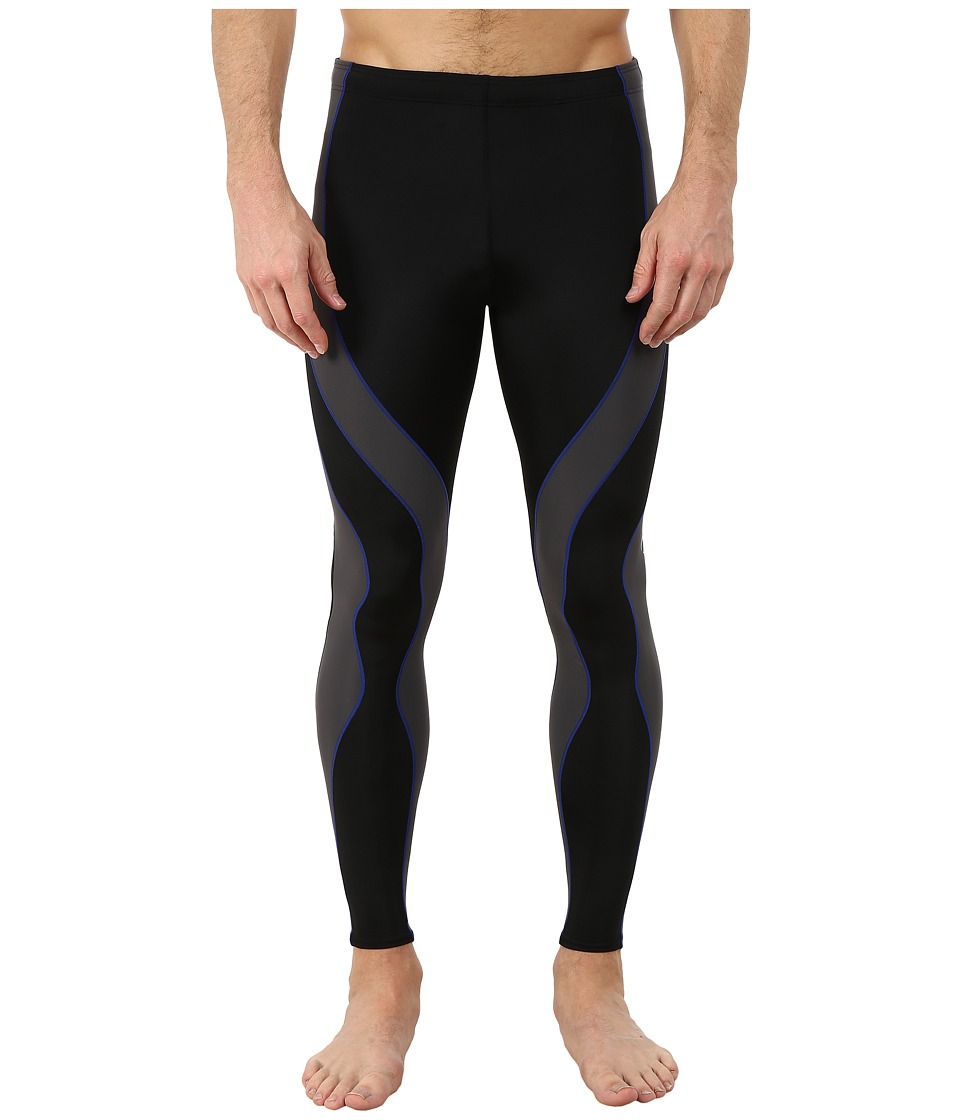 CW-X - PerformXtm Tight (Black/Grey/Blue) Mens Workout