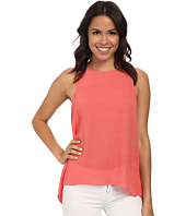 BCBGMAXAZRIA - Jenina Draped Racer Back Top