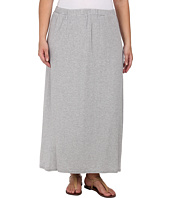 Vince Camuto Plus - Plus Size Tiny Stripe Maxi Skirt