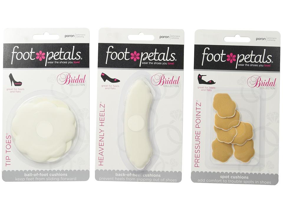 Foot Petals - Wedding Day Collection - Tip Toes, Heavenly Heelz, Pressure Points