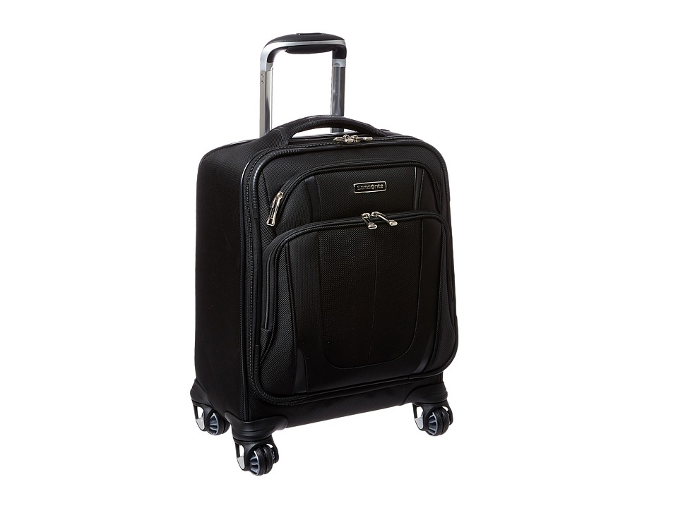 Samsonite - Silhouette Sphere 2 Spinner Boarding Bag (Black) Carry on Luggage