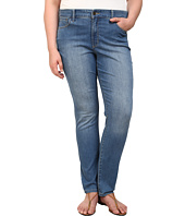 NYDJ Plus Size - Plus Size Samantha Slim Straight in Evansdale Wash