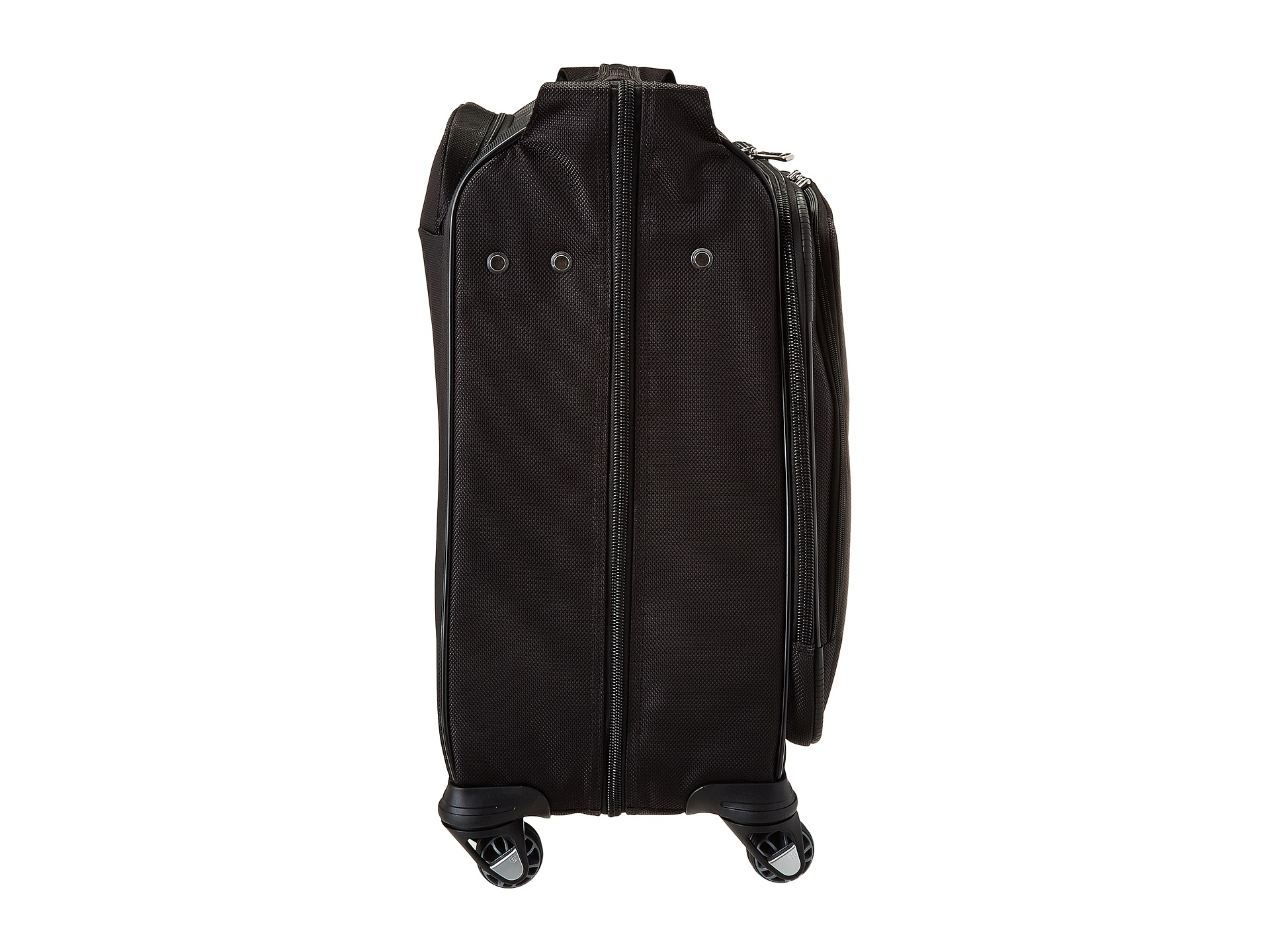 Samsonite silhouette sphere 2 deluxe voyager garment bag for Wedding dress garment bag for plane