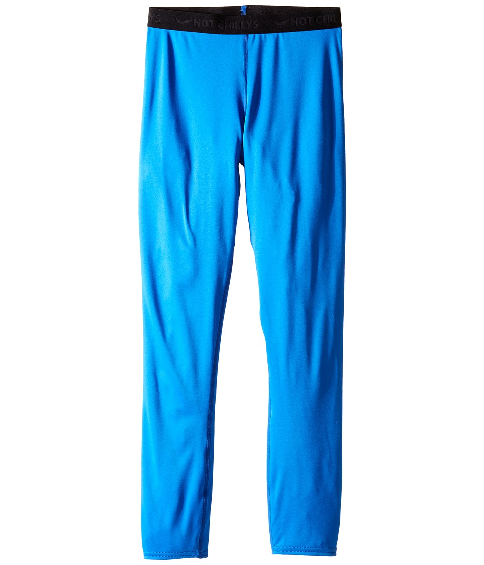 Hot Chillys Kids Peachskins Bottom Little Kids/Big Kids Vivid Blue Kids Casual Pants
