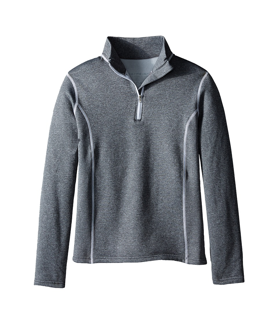 Obermeyer Kids Solace 150 DC Top Little Kids/Big Kids Heather Grey Girls Sweatshirt