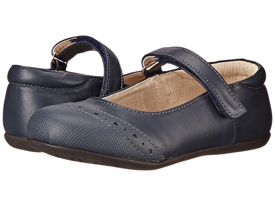 See Kai Run Kids Meredith Toddler/Little Kid Navy Girls Shoes