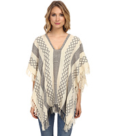 Free People - Weave Pattern Poncho