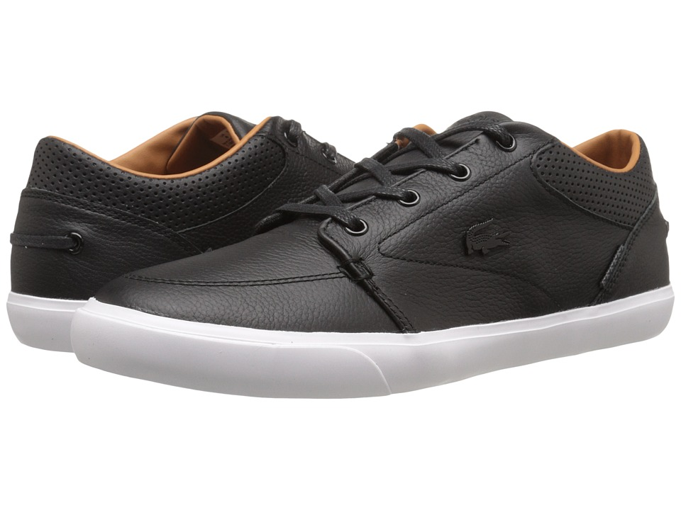 Lacoste - Bayliss Vulc Prm (Black/Black) Mens Shoes