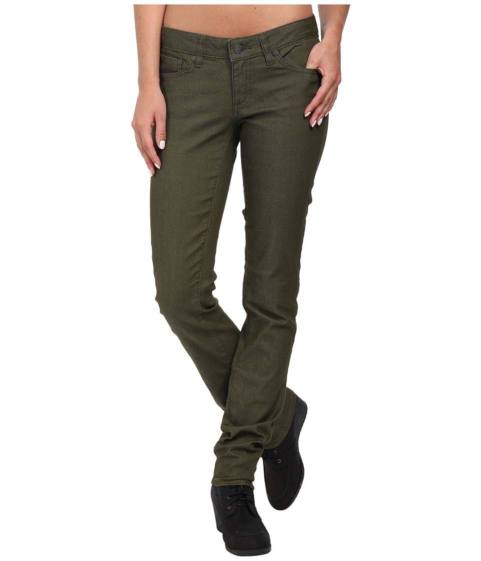 Green Womens Jeans