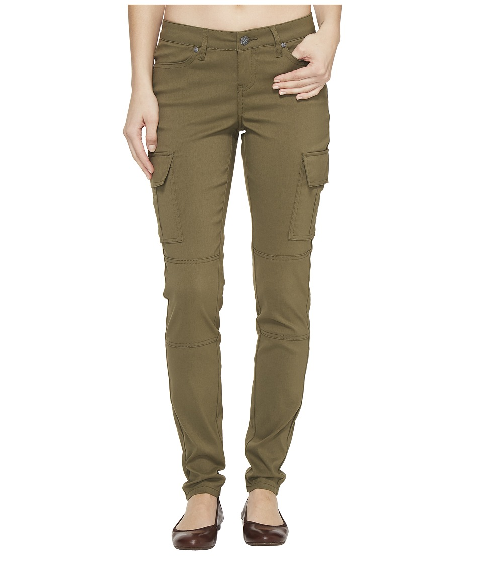 Prana Meme Pants (Cargo Green) Women