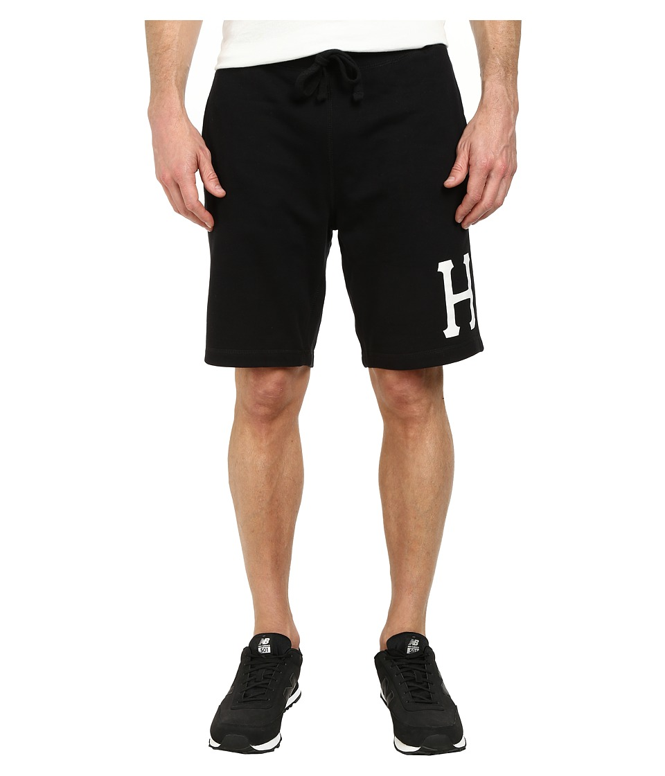 HUF Classic H Fleece Short Black Mens Shorts
