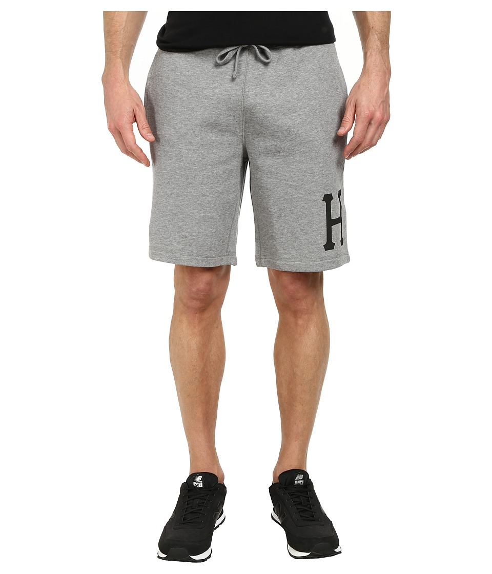 HUF Classic H Fleece Short Grey Heather Mens Shorts