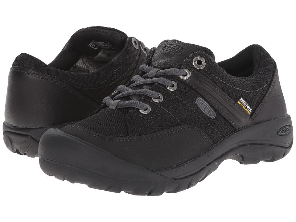 Keen Presidio Sport Mesh WP (Black) Women's Shoes