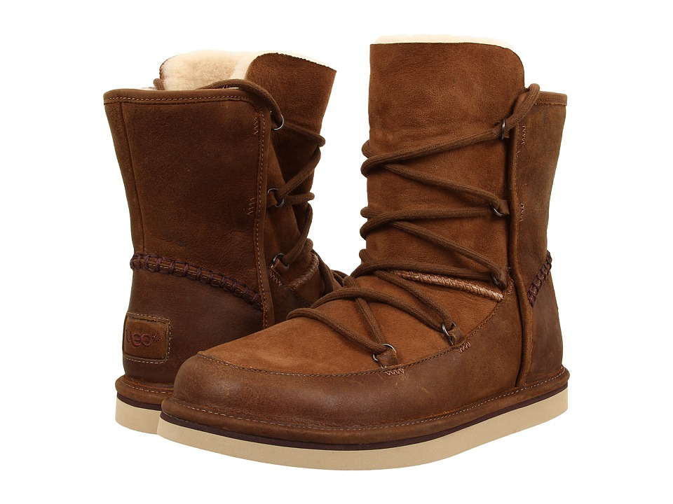 UGG Lodge (Chestnut Leather) Women