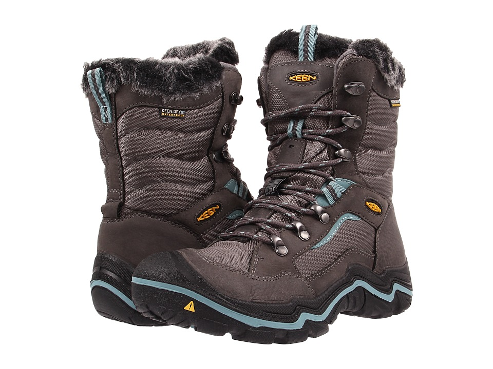 Keen - Durand Polar (Magnet/Mineral Blue) Womens Cold Weather Boots