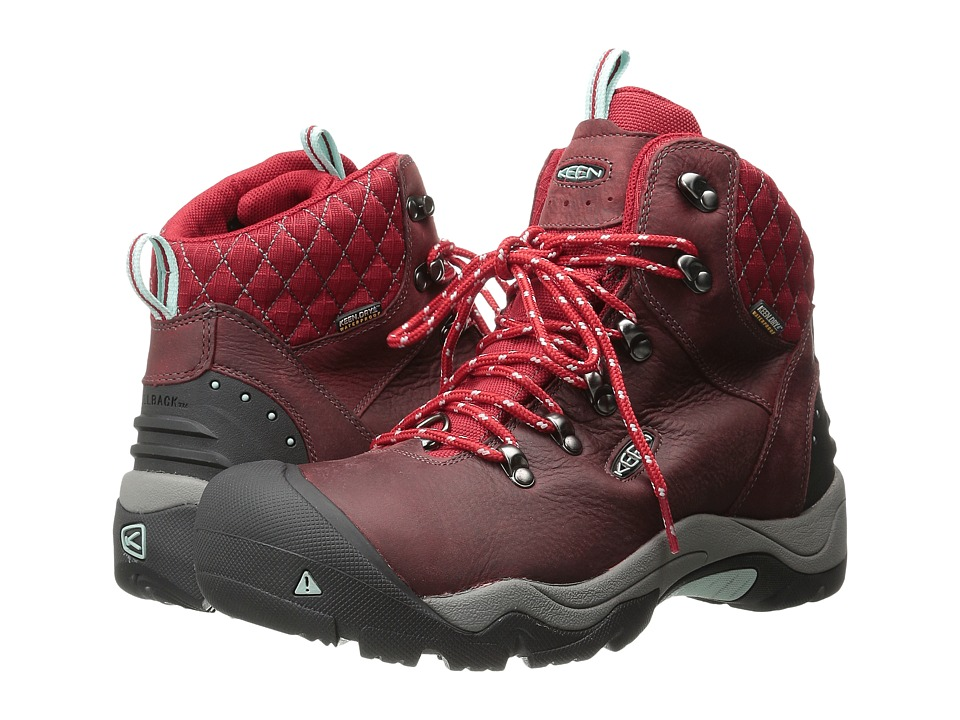 Keen - Revel III (Racing Red/Eggshell) Women