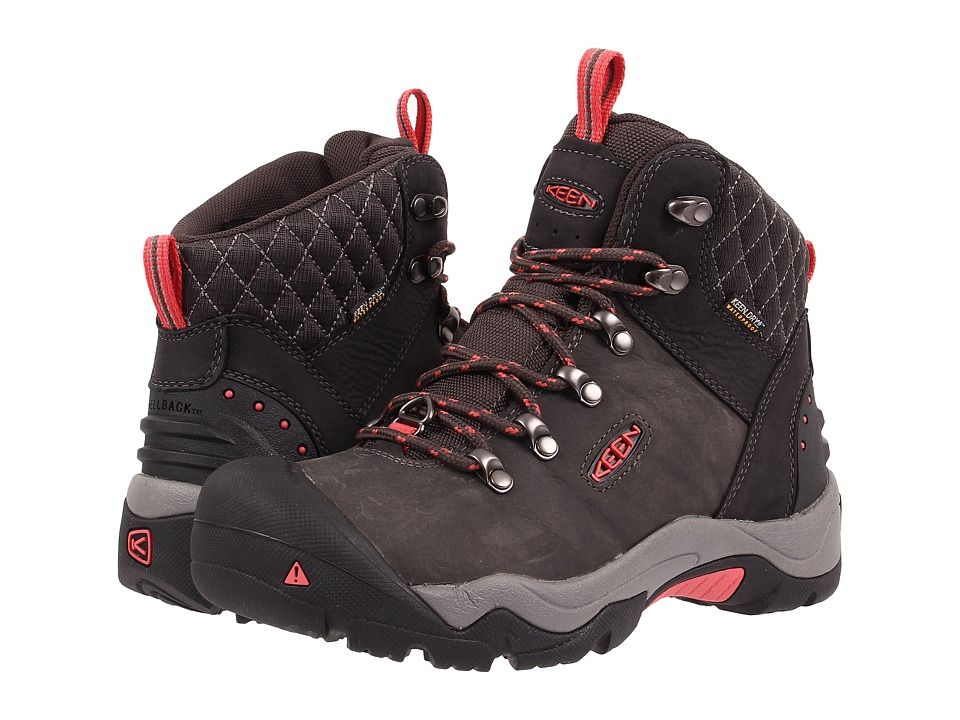 Keen - Revel III (Black/Rose) Womens Waterproof Boots