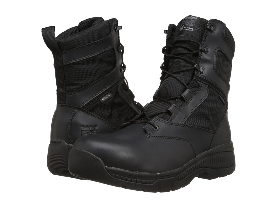 Timberland PRO 8 Valor Duty Soft Toe Waterproof (Black) Men