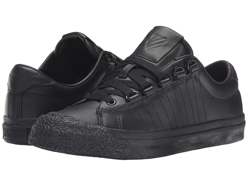 K-Swiss - Irvine (Black/Black/Black) Womens Tennis Shoes