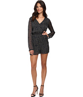 BCBGeneration - Tie Back Surplice Romper