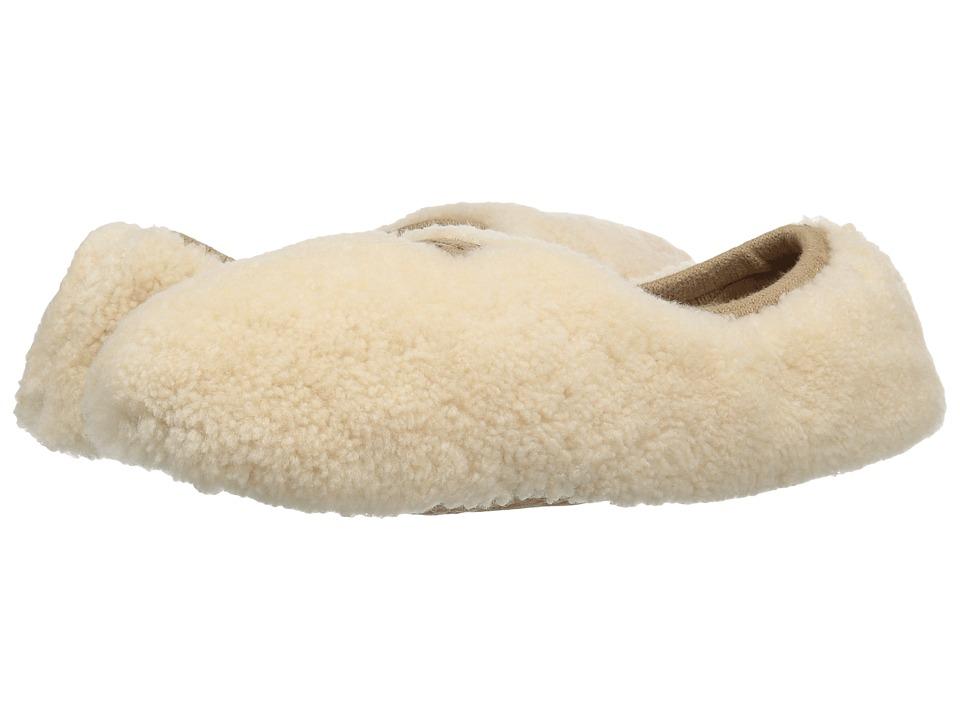 UGG Birche (Natural Sheepskin) Slip-On Shoes