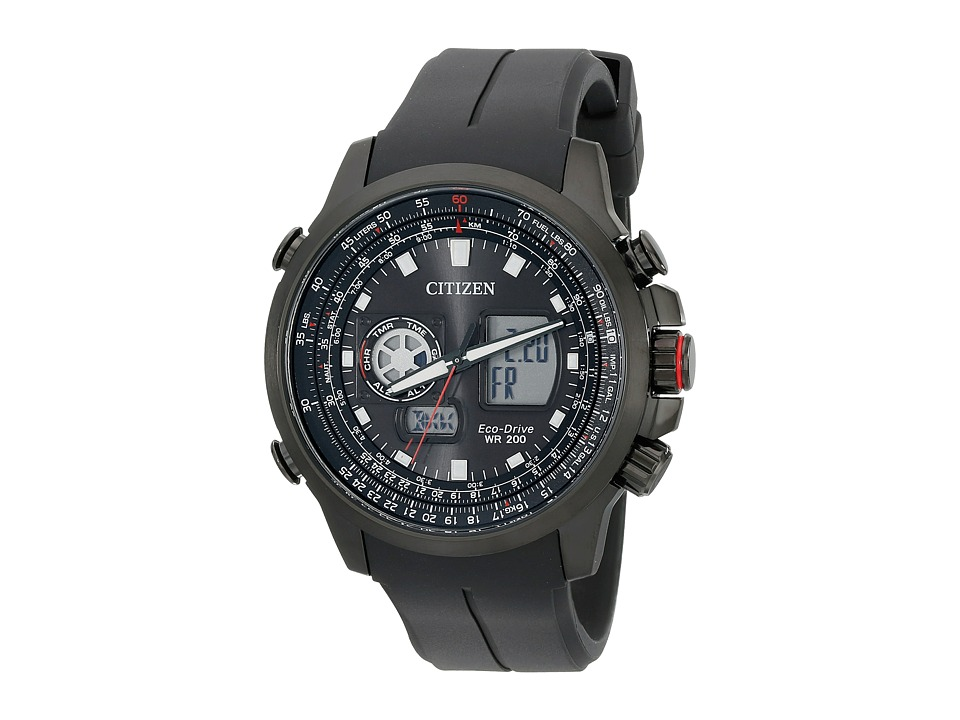 Citizen Watches - JZ1065-13E Promaster Air (Black Ion Plated Stainless Steel) Watches