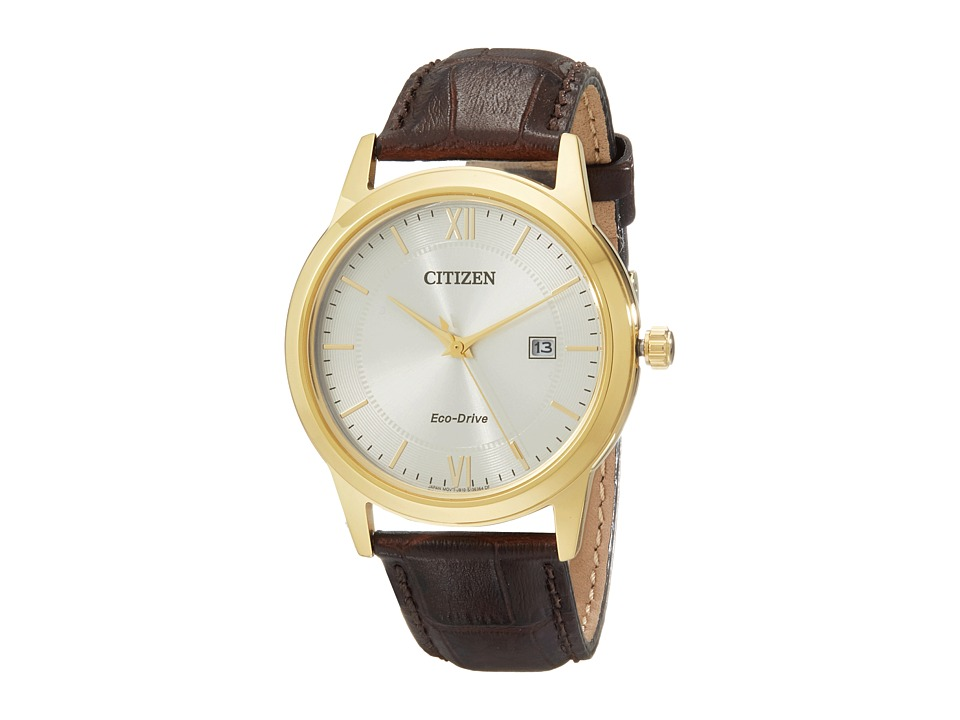 Citizen Watches AW1232 04A Mens Straps Gold Tone Stainless Steel Watches
