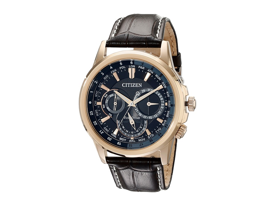 Citizen Watches BU2023 04E Calendrier Gold Tone Stainless Steel Watches