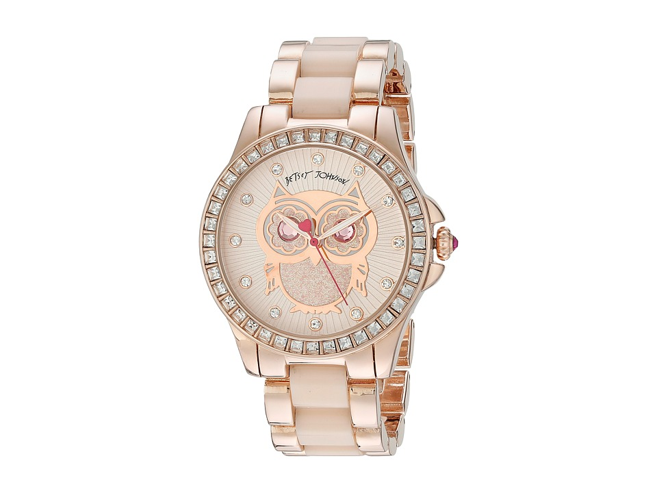 Betsey Johnson BJ00246-10 (Rose Gold) Watches