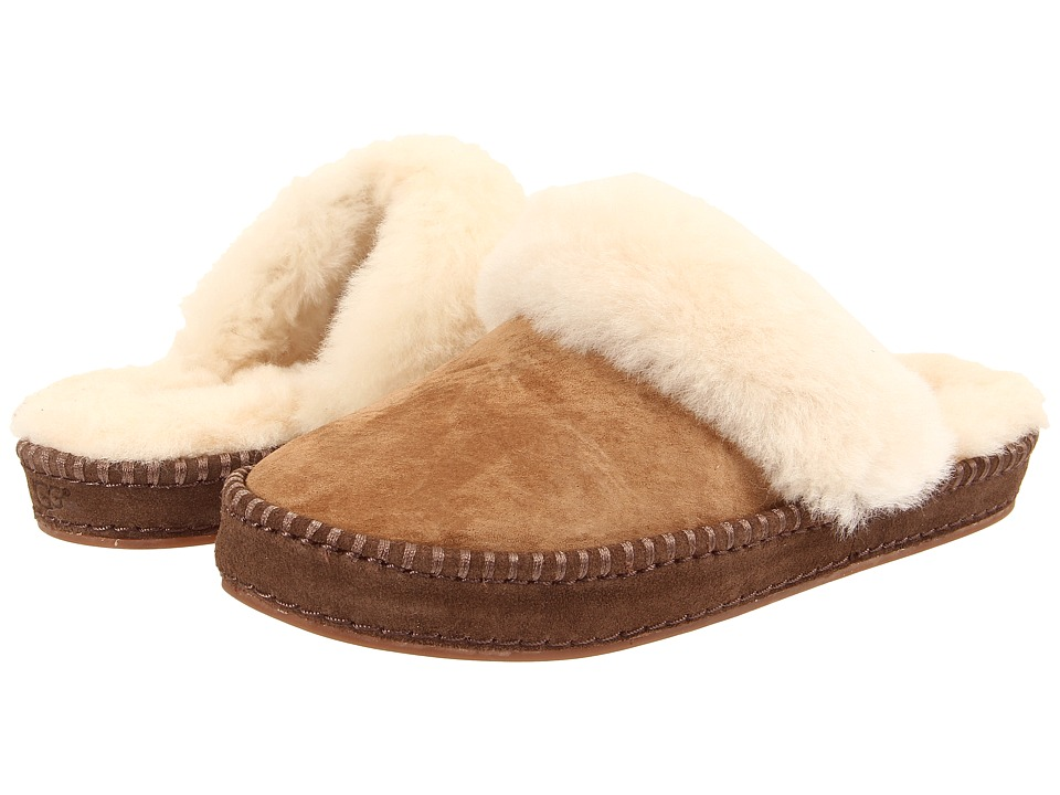 UGG Aira (Chestnut Suede) Slip-On Shoes