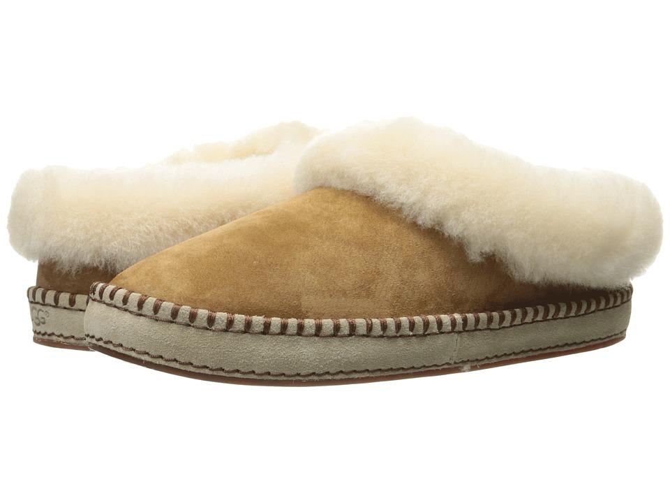 UGG Wrin (Chestnut Suede) Slip-On Shoes