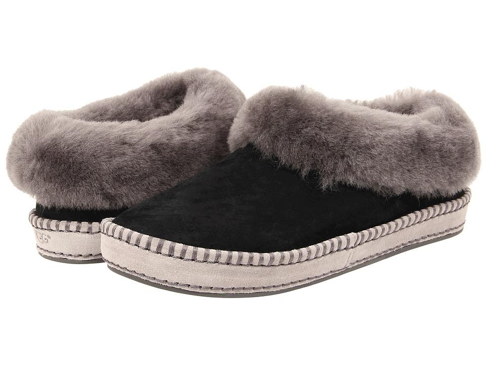 UGG Wrin (Black Suede) Slip-On Shoes