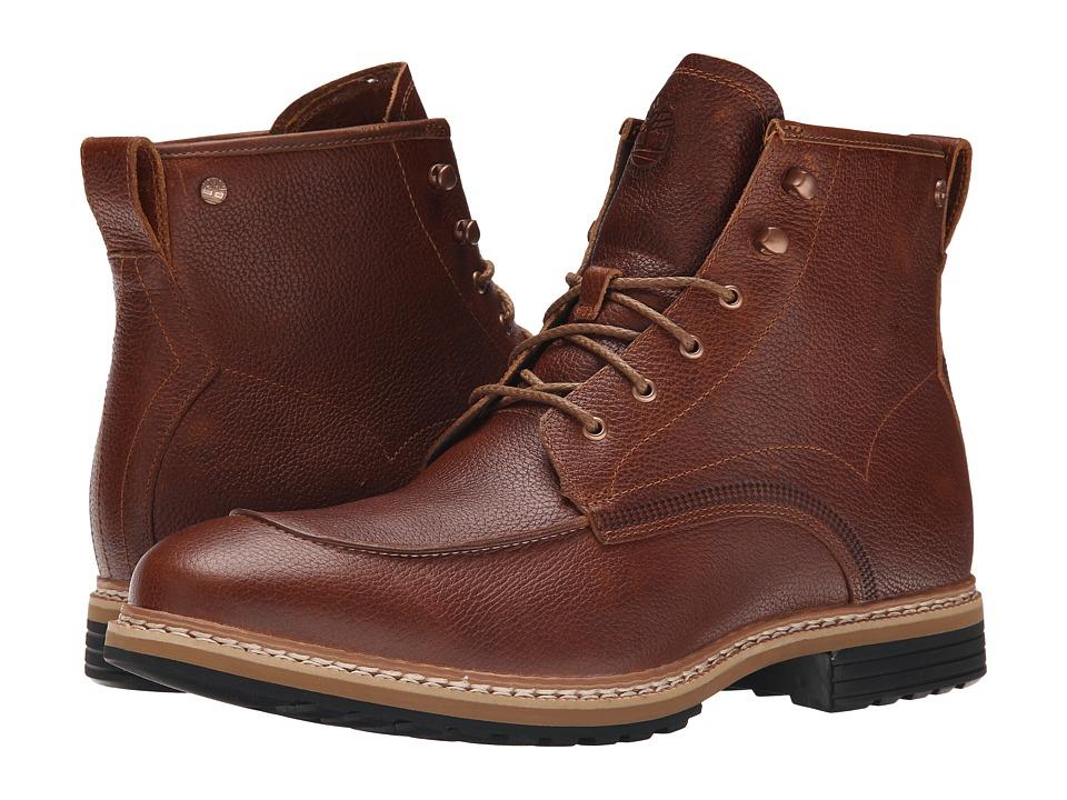 Timberland - West Haven 6 Waterproof Boot (Dark Brown Full Grain) Men