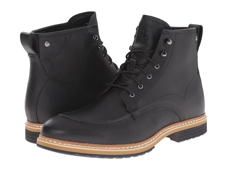 Timberland - West Haven 6 Waterproof Boot (Black Full Grain) Men
