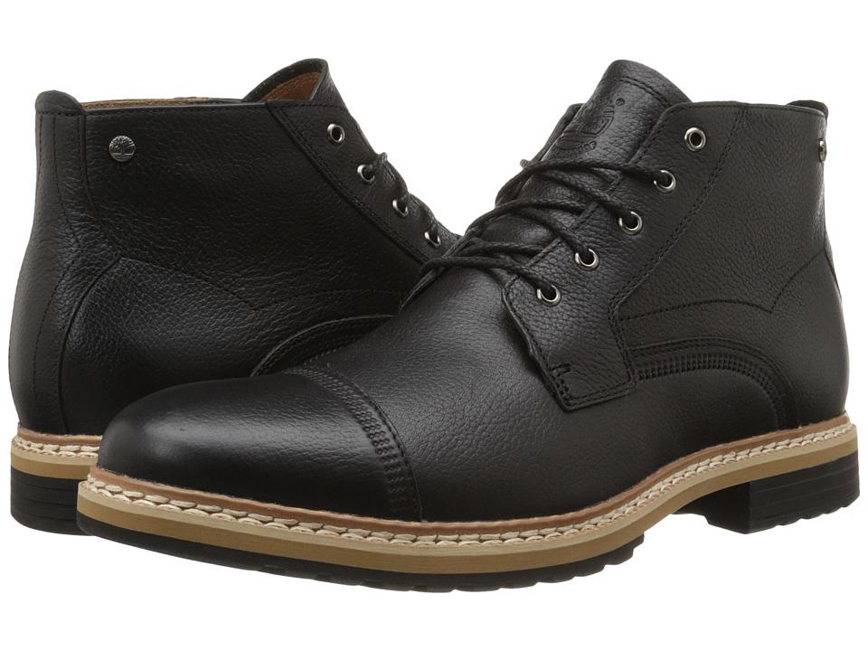 Timberland - West Haven Waterproof Chukka (Black Full Grain) Men